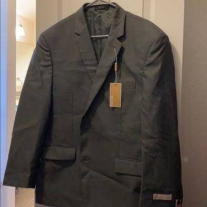 Brand new Michael Kors 3-piece suit, charcoal